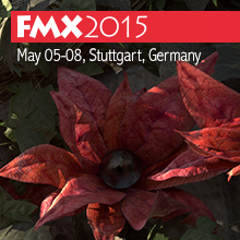 FMX 2015 May 05-08, Stuttgart, Germany