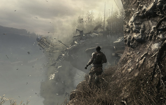 Destruction Sequences in Call of Duty: Ghosts