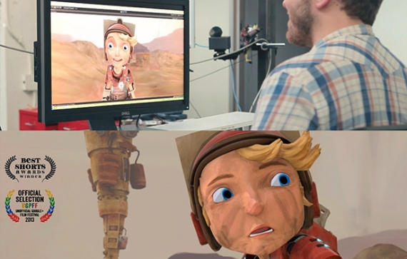 Real-time Animation of Cartoon Character Faces